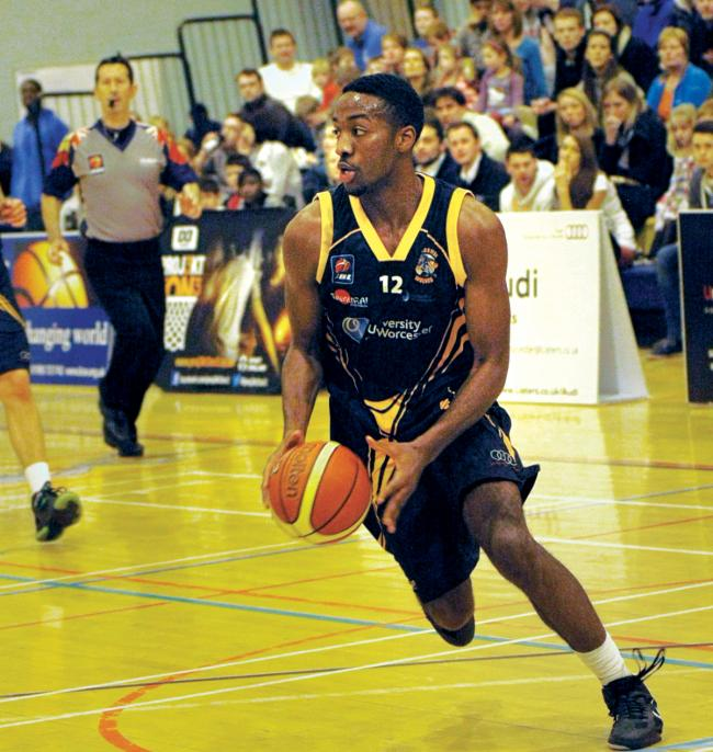 SHOWING HIS POTENTIAL: Kalil Irving is starting to establish himself in Worcester Wolves' starting spot as their BBL title push continues. Picture: KEITH HUNT