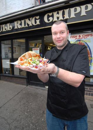 Jon Randell, owner of the chip shop
