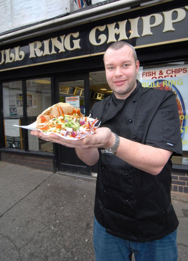 Worcester News: Jon Randell, owner of the chip shop