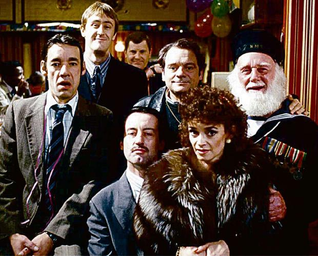 John Challis (front) will not be reprising his role as Boycie in Only Fools and Horses.