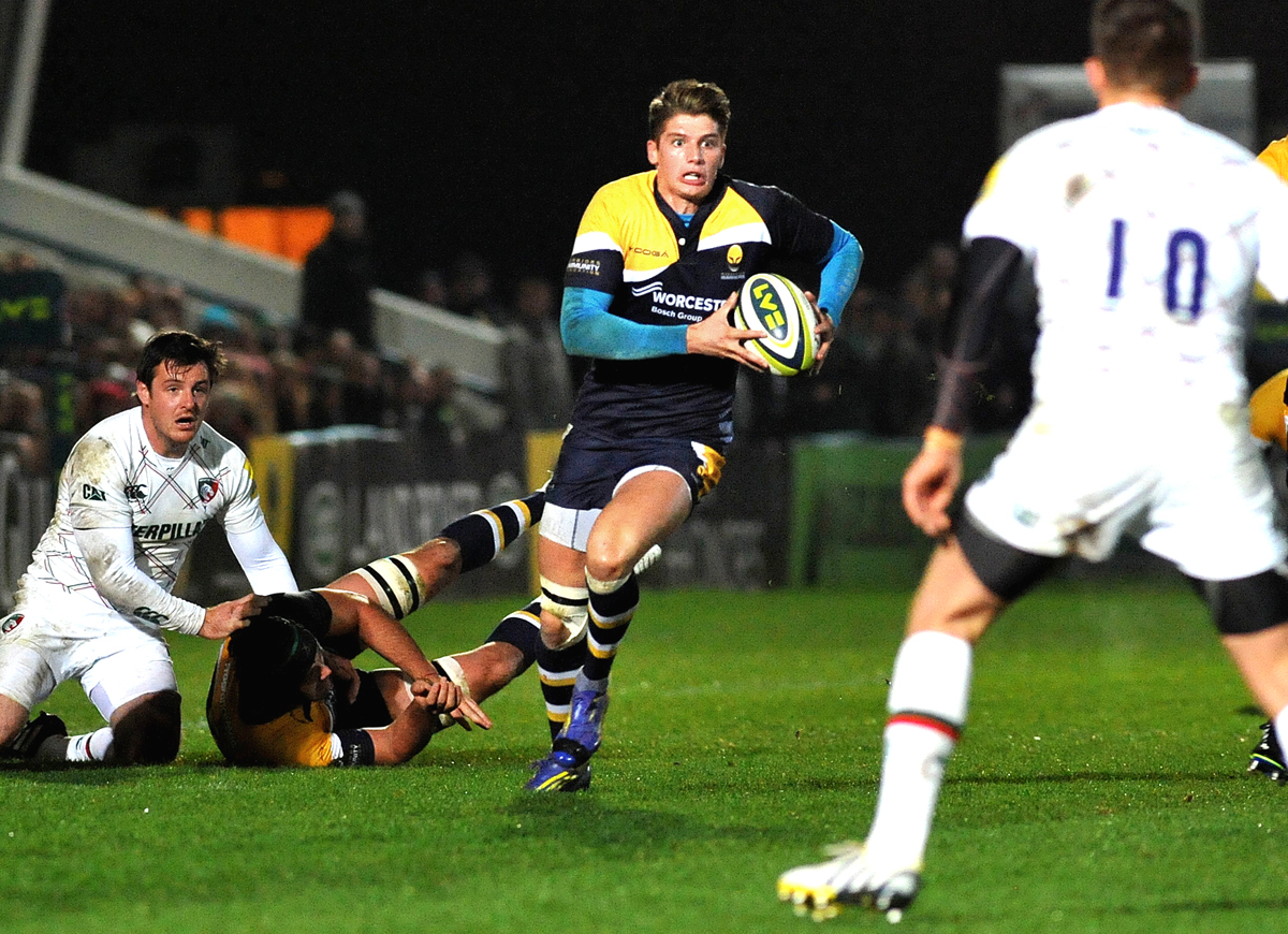 BEN HOWARD: Says he needs to knuckle down and keep on improving at Sixways.
