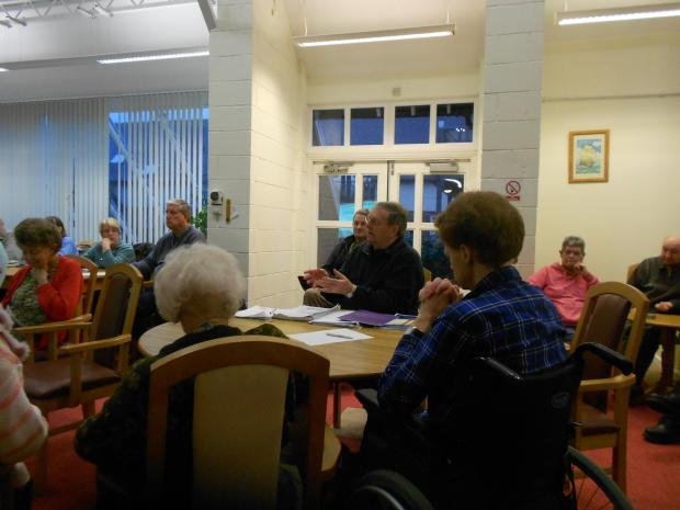Brian Hunt, vice-chairman of the Worcestershire Pensioners Action Group, has been a stern critic of any cuts which could affect older people