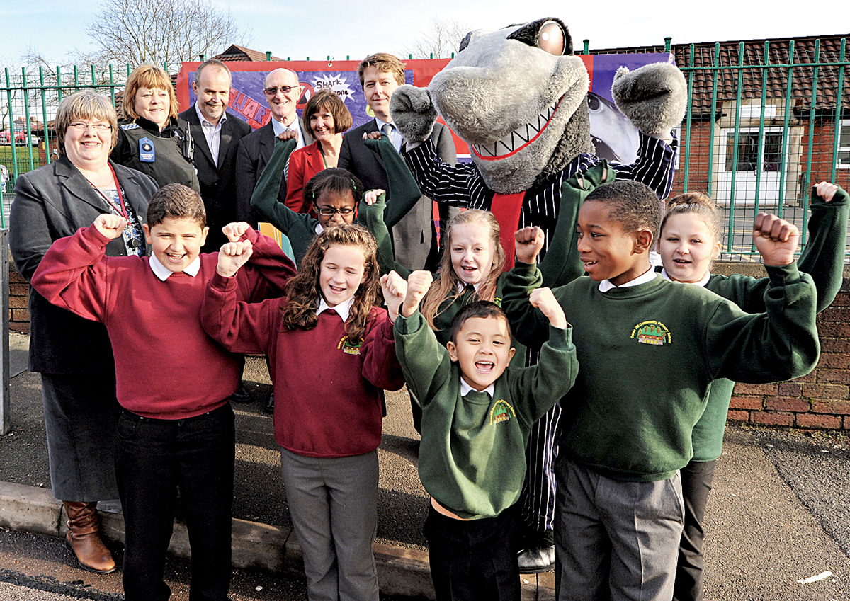The youngsters were taught how to avoid loan sharks