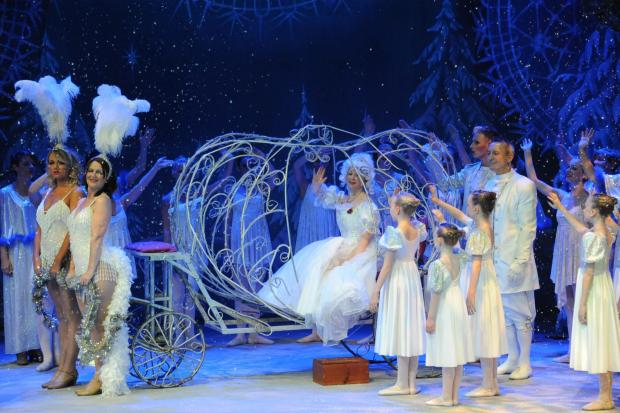 Worcester News: Cinderella, which is being performed at the Swan Theatre in Worcester