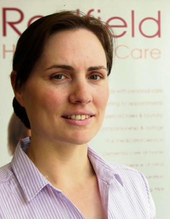 Founder of Radfield Home Care Dr Hannah MacKechnie