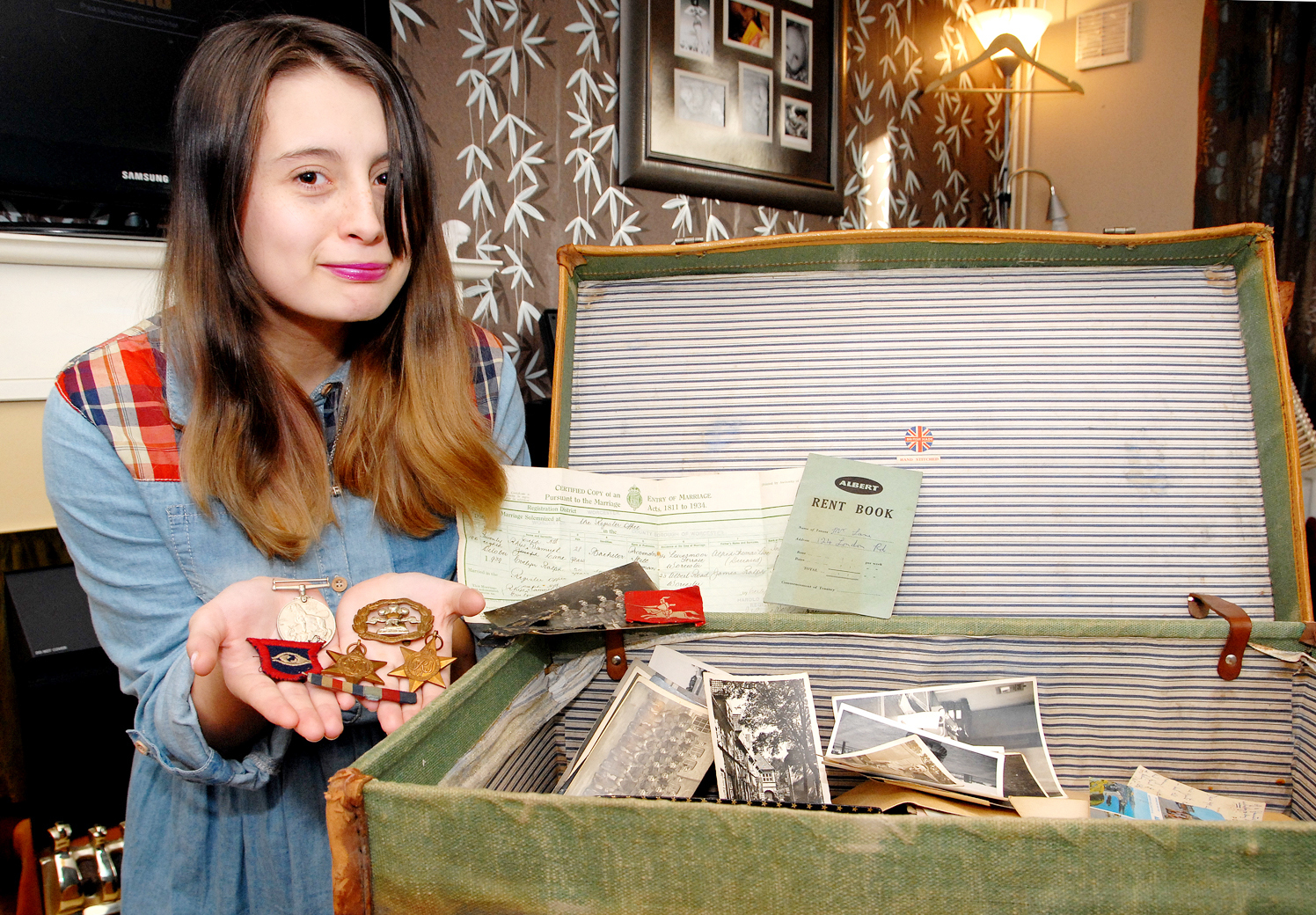 "The search is on for the owner of a ""box of memories"" discovered in a Worcester attic"