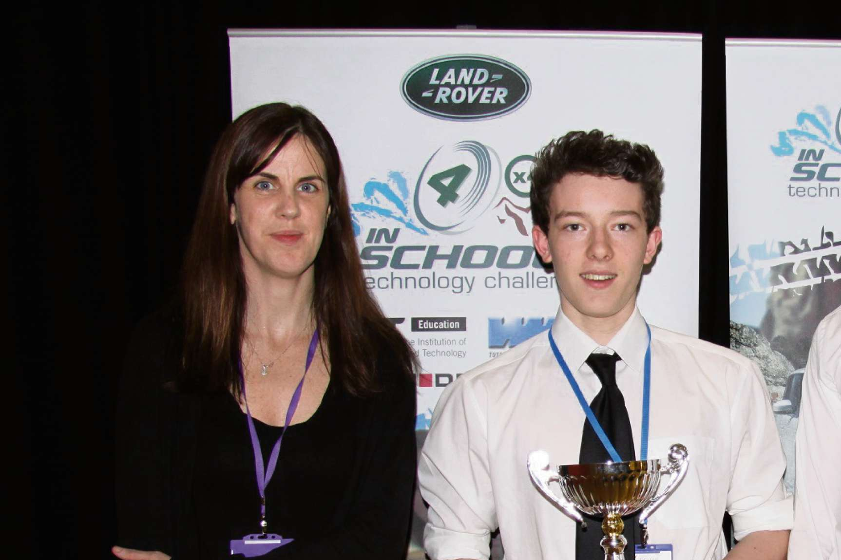 Winning Droitwich High School team That Looks Steep with Fiona McGarry from Birmingham Metropolitan College.