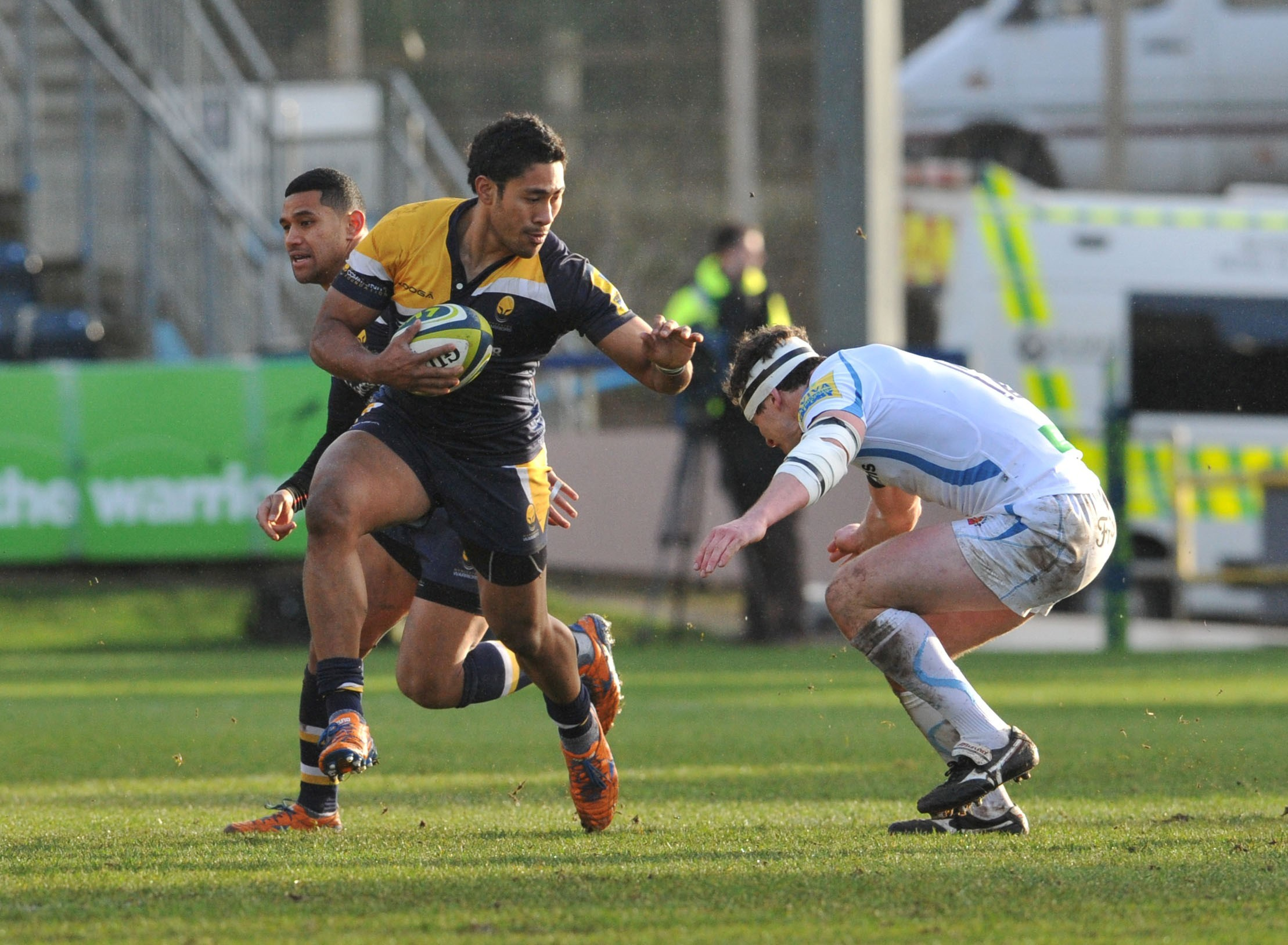 Exeter bullied us, moans Warriors boss