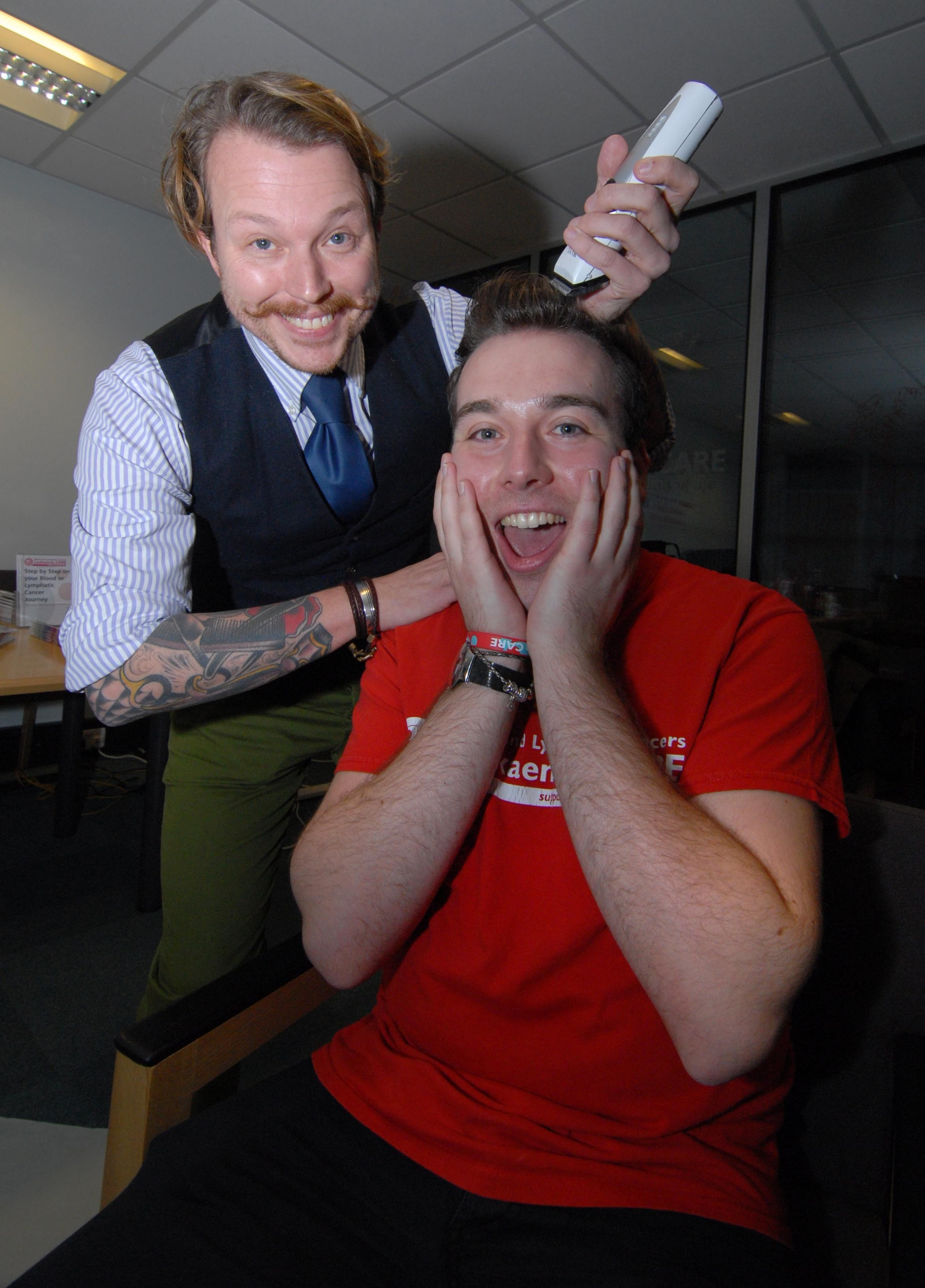 Charity worker has head shaved for London Marathon fundraising bid