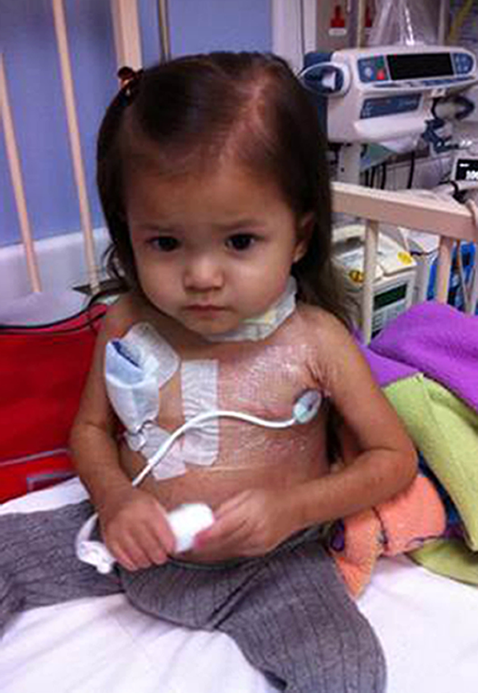 Sign up as a bone marrow donor and help change a little girl's life