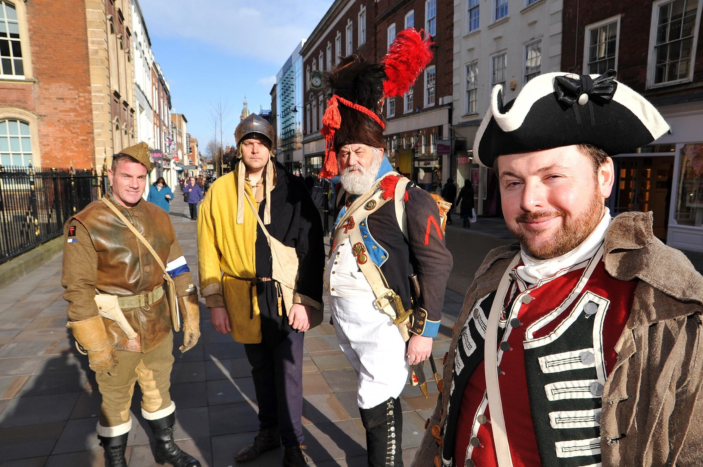 Step back in time for Living History weekend