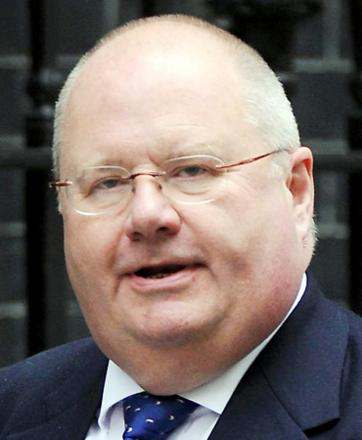 Local Government minister Eric Pickles