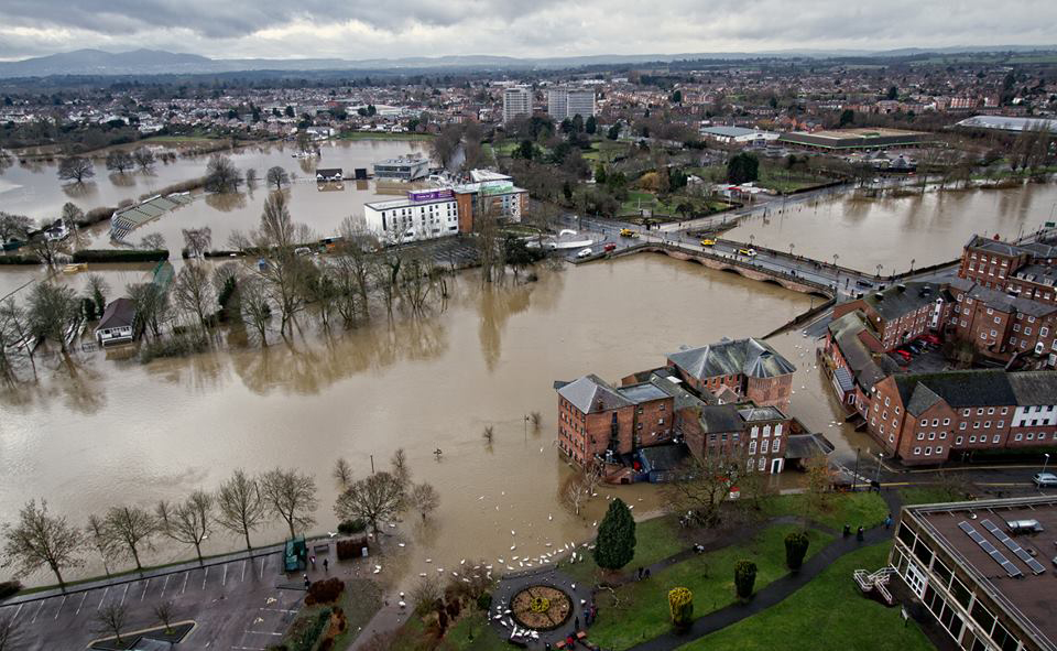 Floods England Map.Nearly 10 000 Homes At Risk Of Flooding In Worcestershire