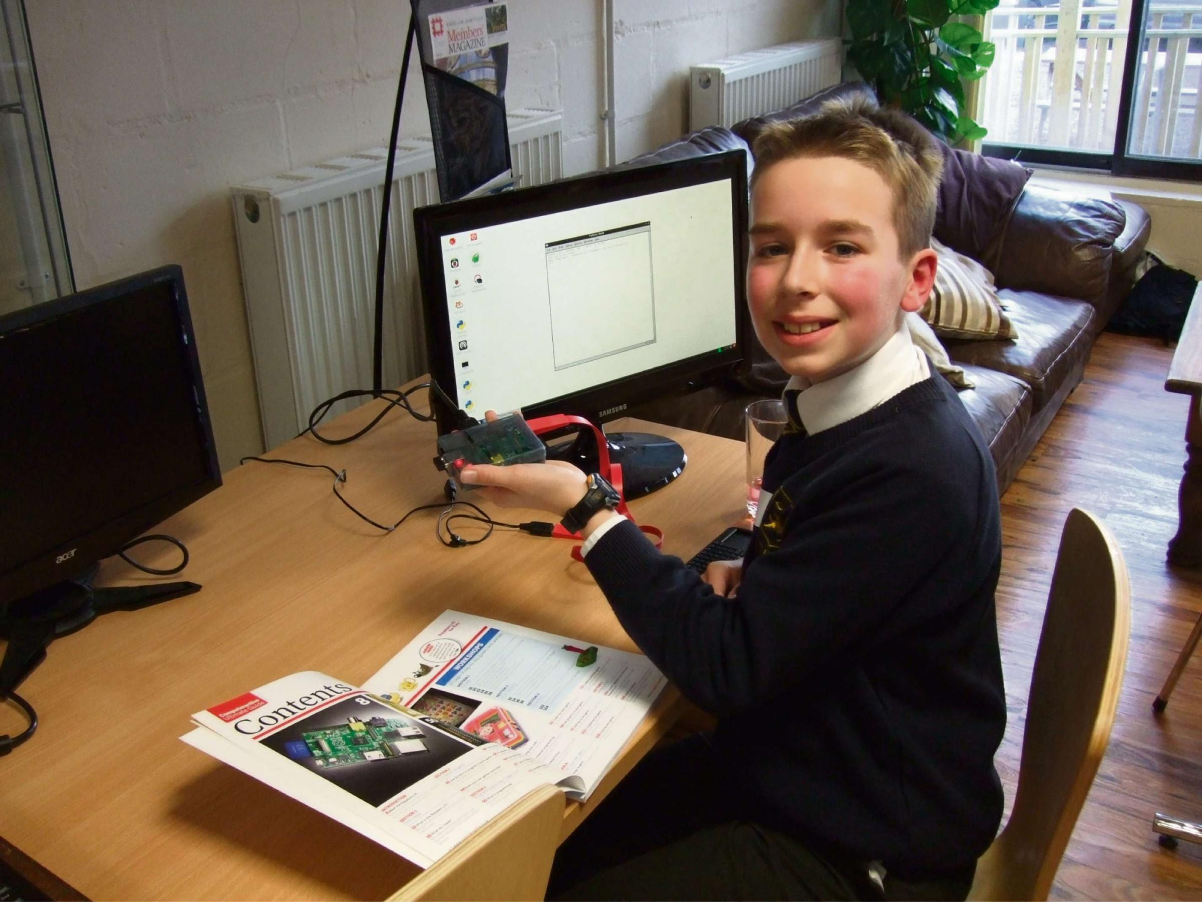 New class attracts Malvern's young computer whizzkids