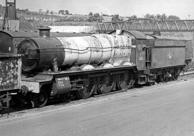 Worcester News: The Collett Tender at the Barry Scrapyard around 1971