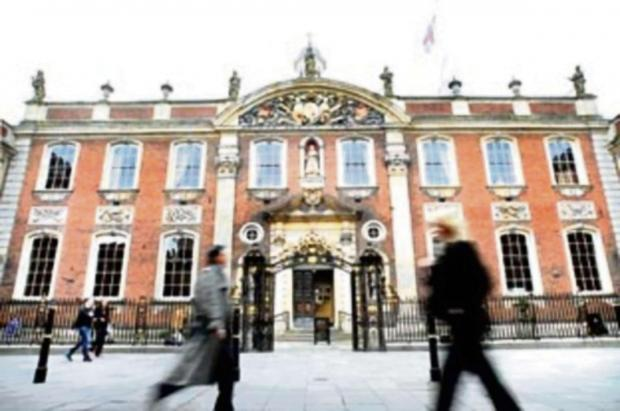 Worcester News: Worcester's Guildhall: city council cabinet backs spending