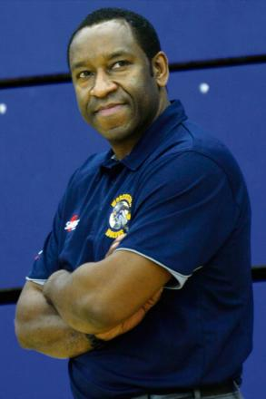 DETERMINED: Worcester Wolves coach Paul James.