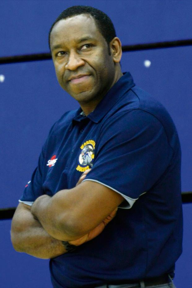Worcester News: DETERMINED: Worcester Wolves coach Paul James.