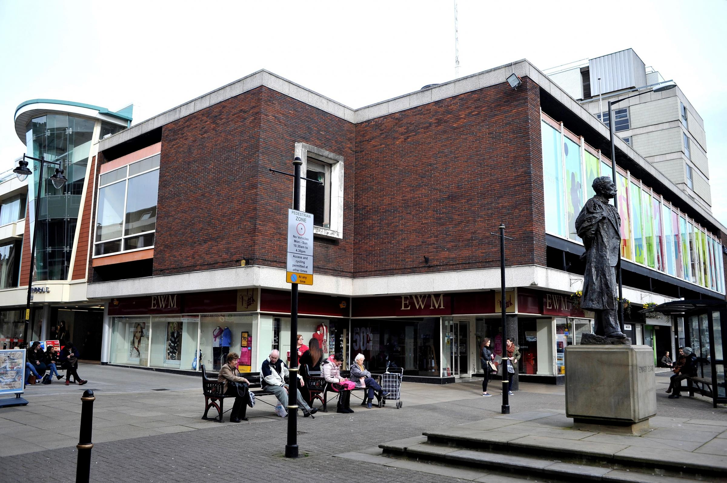 Councillor Adrian Gregson: rallying call over Cathedral Plaza
