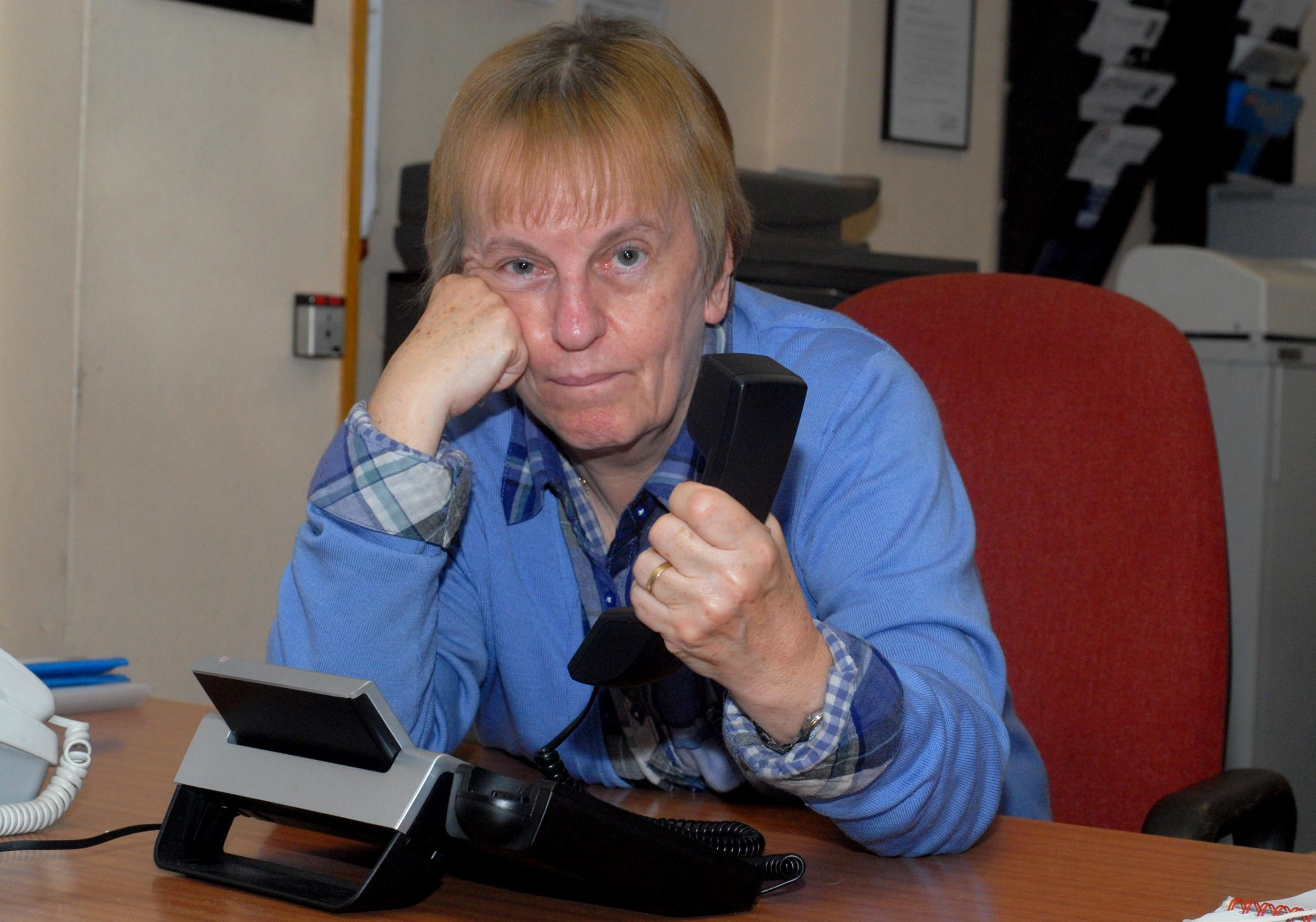 Charity worker conned by telephone scam