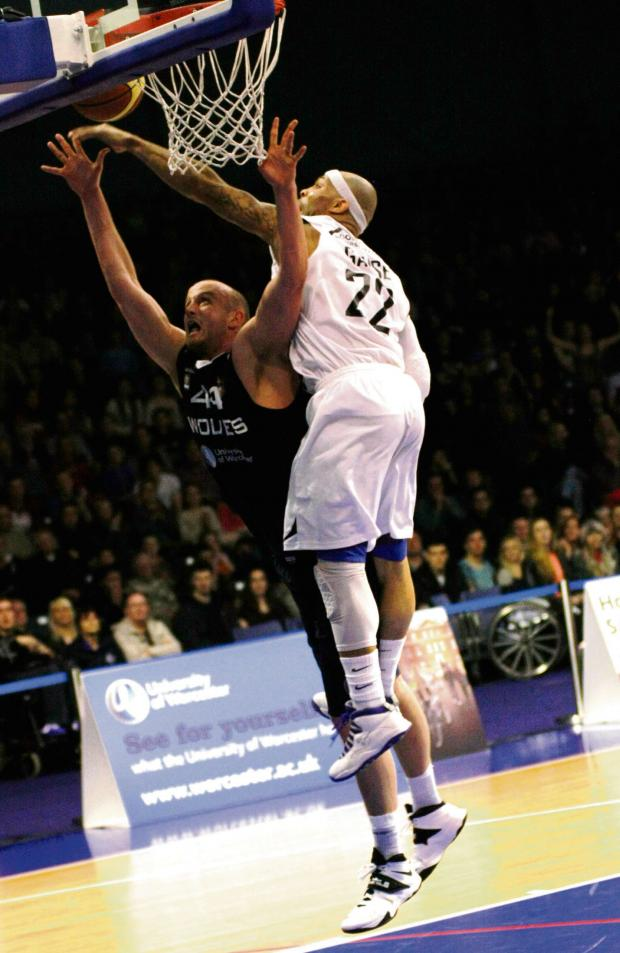 Worcester News: WILL CREEKMORE: One of Worcester's better performers in last Friday's defeat to Newcastle Eagles.