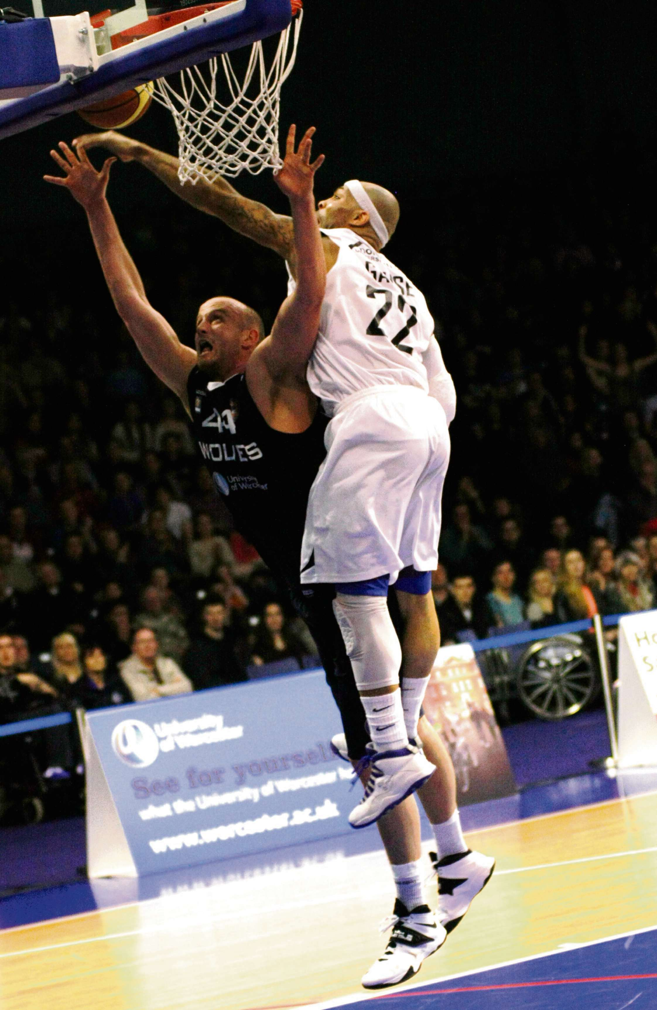 WILL CREEKMORE: One of Worcester's better performers in last Friday's defeat to Newcastle Eagles.