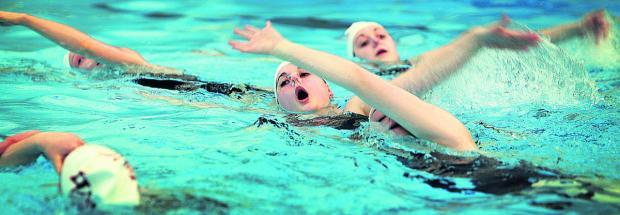 Worcester Swimming Pool makes a splash for Sport Relief