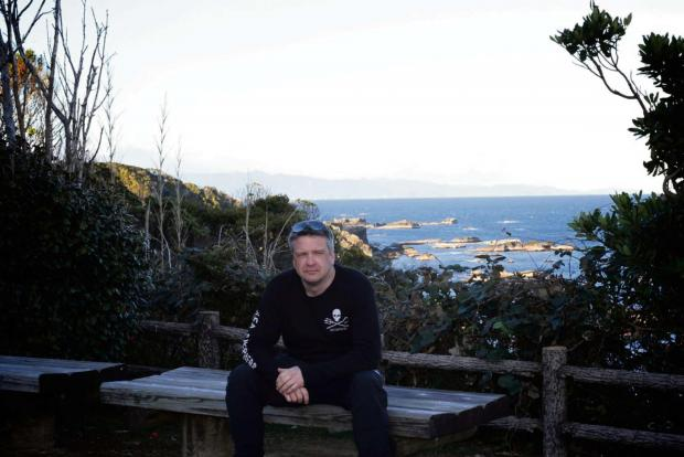 Mark Muschamp in Taiji, Japan where he spent over two weeks as a cove guardian.