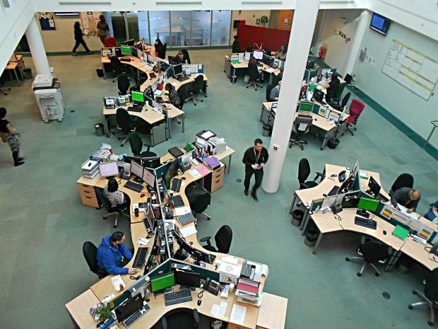 Worcester News: The NHS 111 call centre in Brierley Hill
