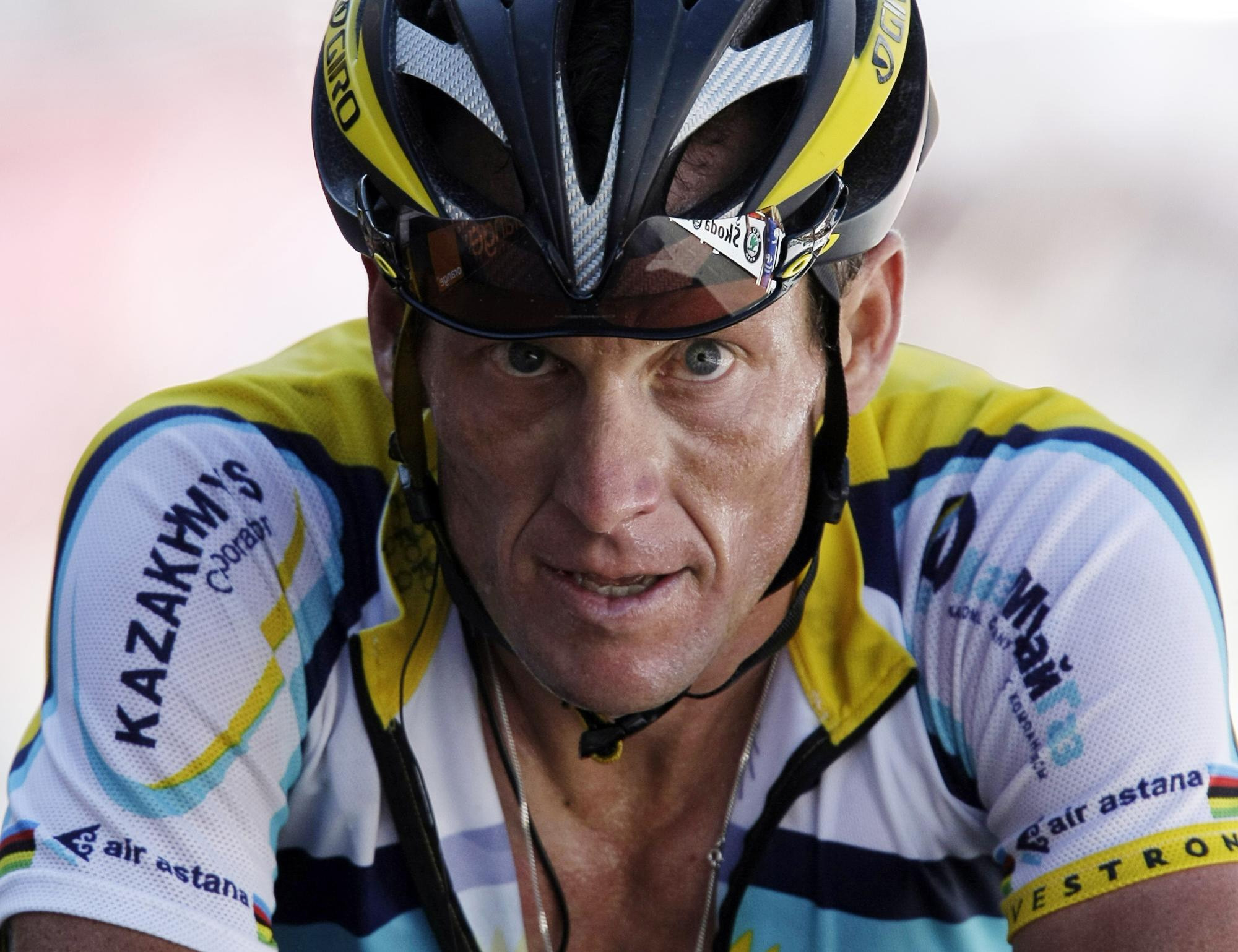 Lance's ironic calls for an end to doping in cycling