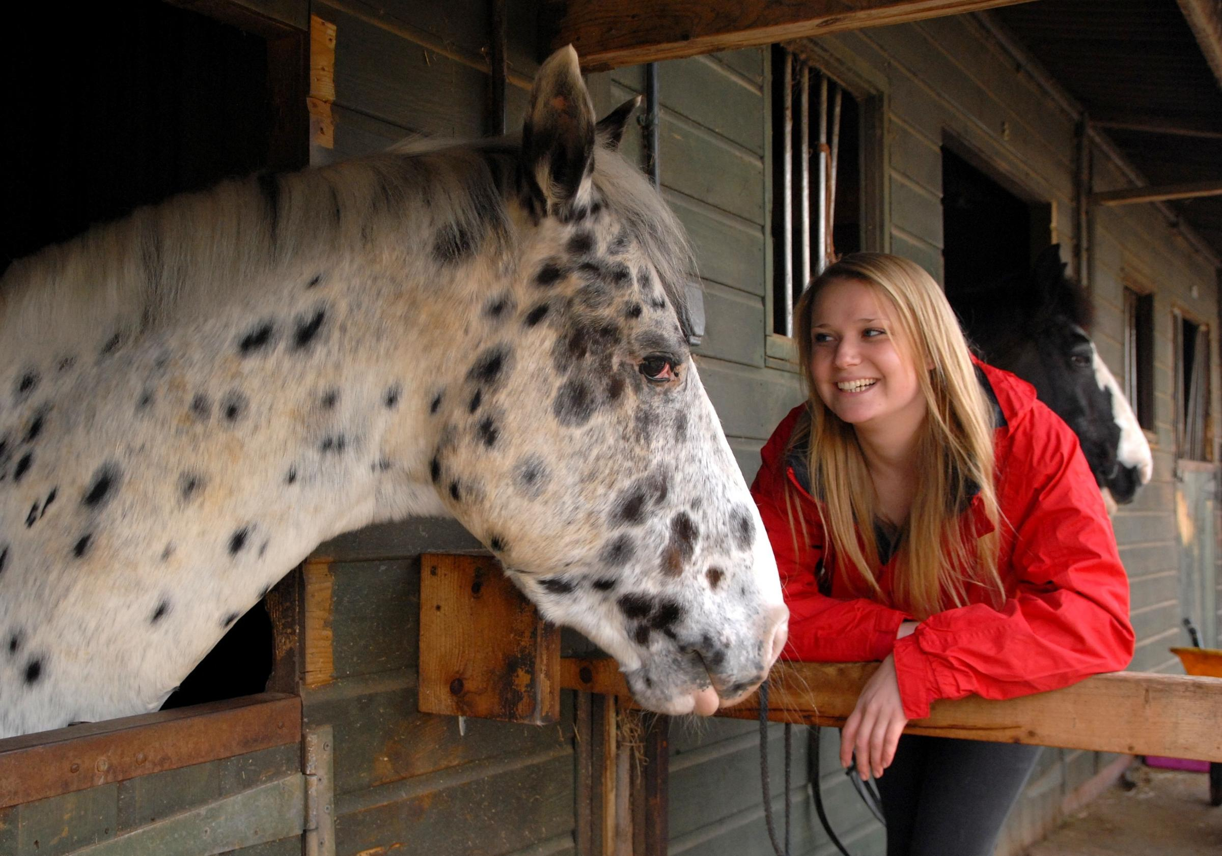 Rider combines passion for horses and fundraising