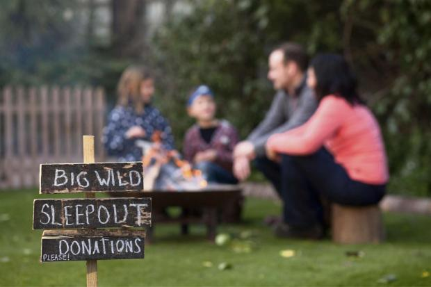 Worcester News: Carry on camping - and raise funds for the RSPB