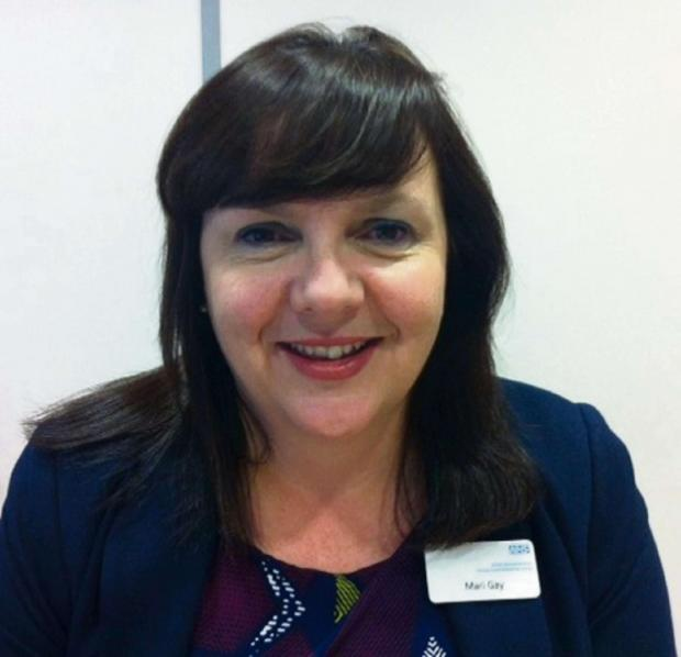 NHS South Worcestershire's director of quality and executive lead nurse Mari Gay