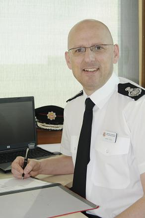 Chief fire officer Mark Yates