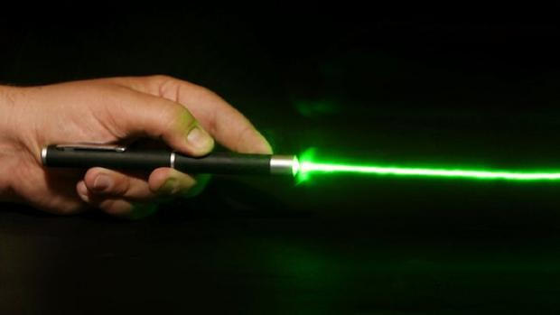 Police seek culprits after laser is beamed at plane