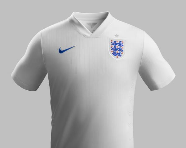 Worcester News: Nike England home shirt
