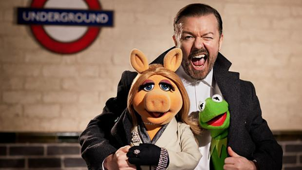 Muppets Most Wanted stars Ricky Gervais