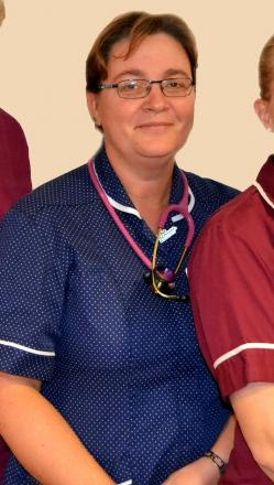 Worcestershire Acute Hospital lead cancer nurse specialist for head and neck cancer Louise Pearson