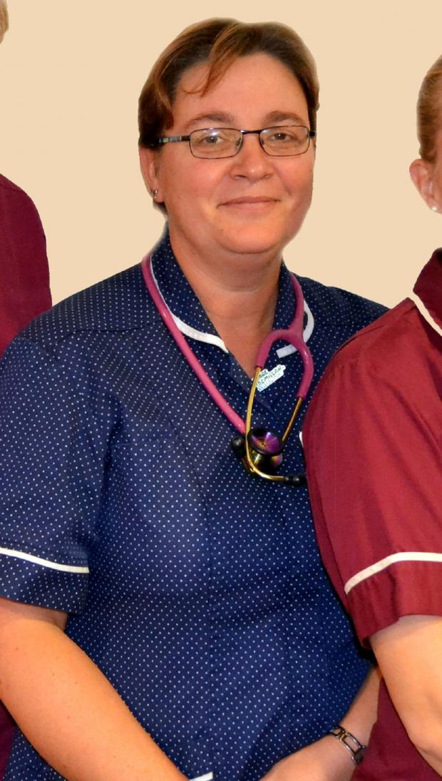 Worcester News: Worcestershire Acute Hospital lead cancer nurse specialist for head and neck cancer Louise Pearson