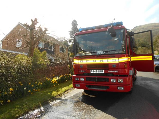 "Firefighters battle ""serious"" blaze in Malvern"