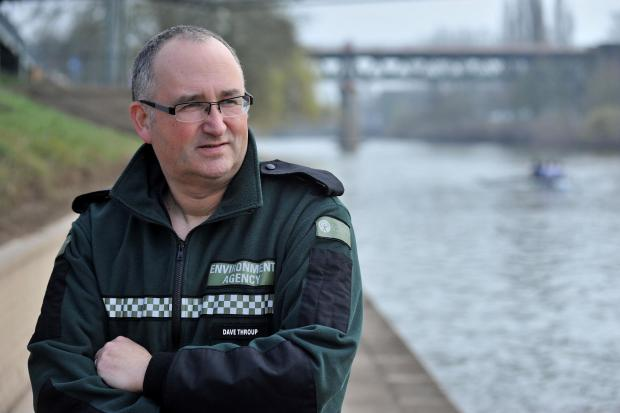 Flood hero Dave Throup reveals all - and there's nothing wet about 'Super Dave'