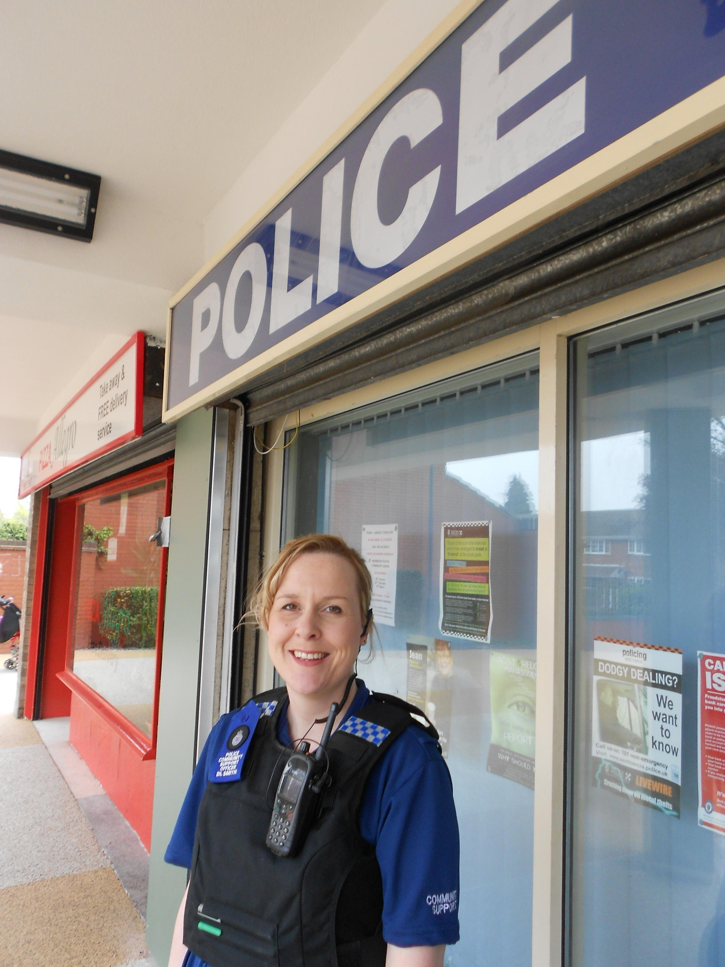 New Worcester PCSO says despite all the action, she just wants to make people feel safe