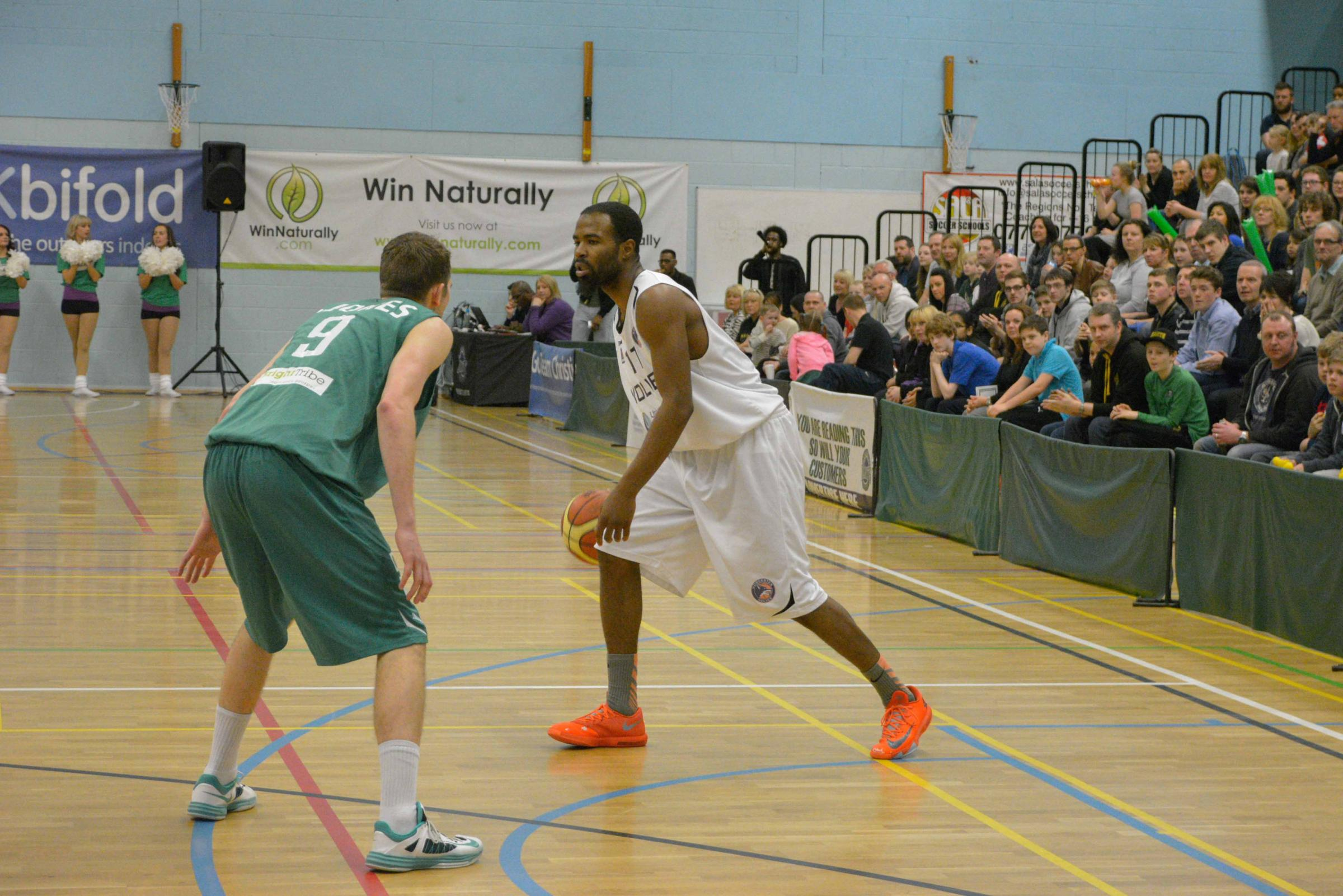 Zaire Taylor in action for Worcester Wolves. Picture: OLLY JONES.