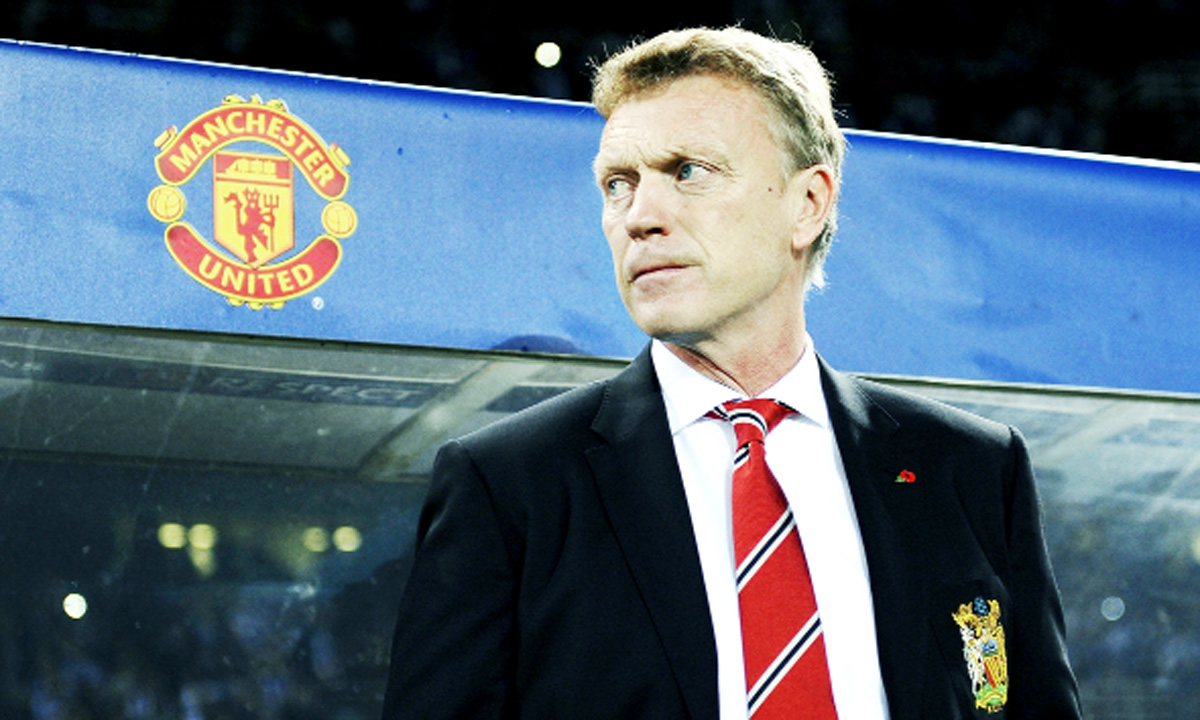 David Moyes was in charge at Manchester United for 10 months.