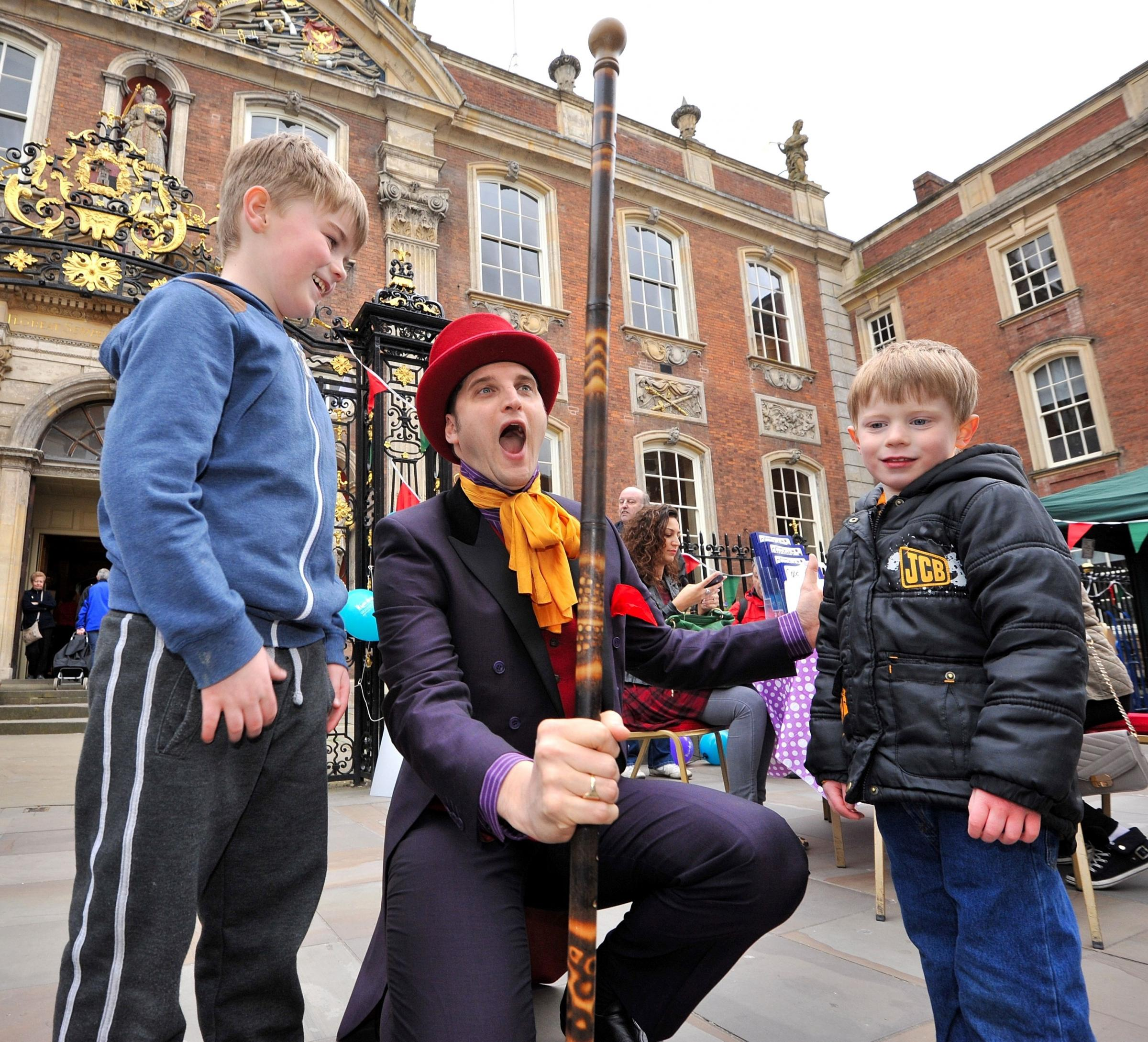 Worcester's Chocolate Day: PICTURES
