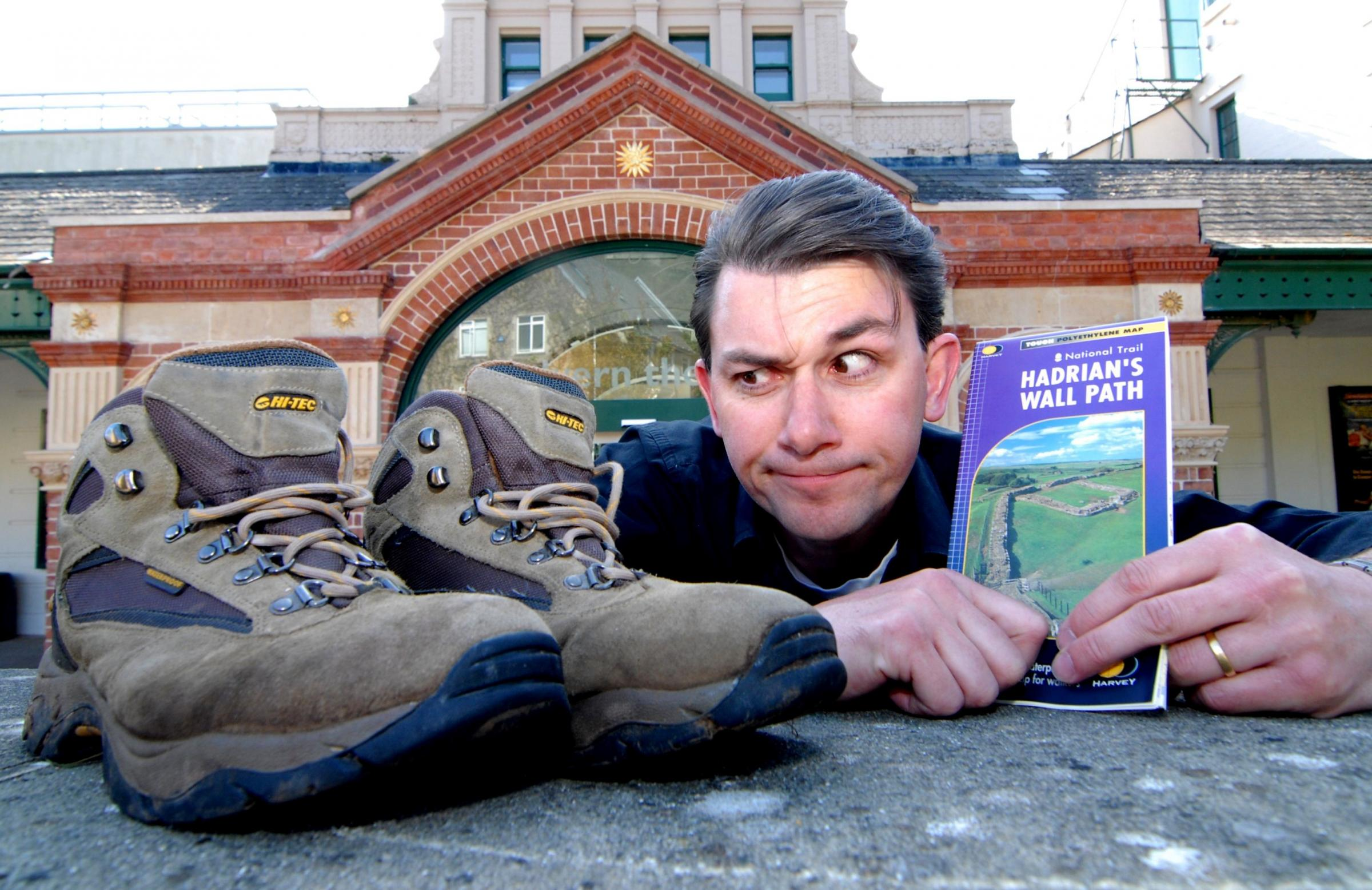 Playwright's walking challenge will bring inspiration and funds