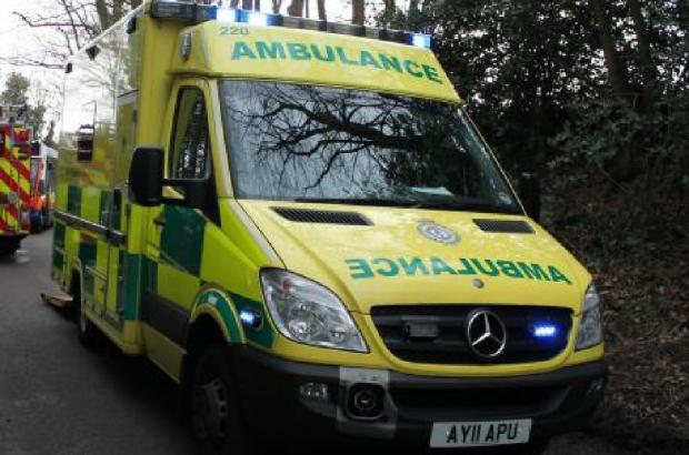 Man spotted in River Avon taken to hospital