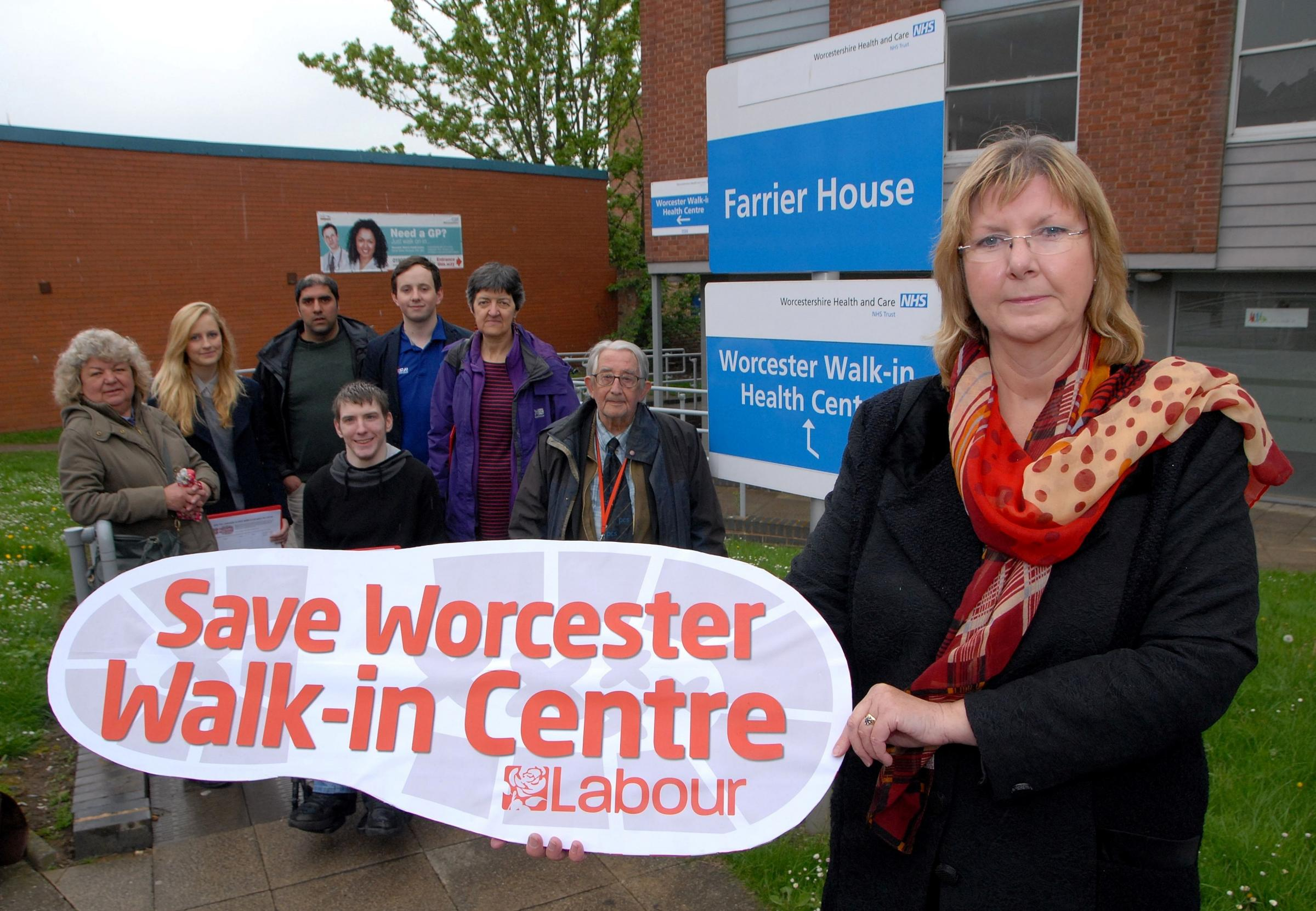 Campaign to save Worcester walk-in centre launched