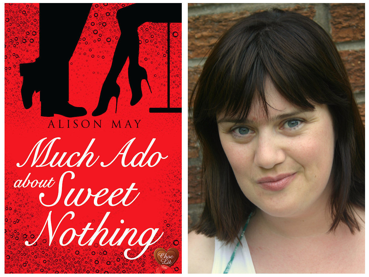 Alison May hopes her debut novel Musch Ado About Sweet Nothings will win the Joan Hessayon Award for new writers. (s)