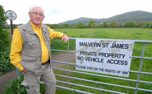 Bob Tilley of Malvern Civic Society expects great opposition to plans.